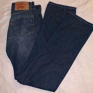 Levi 501 straight fit men's jeans size 30x32